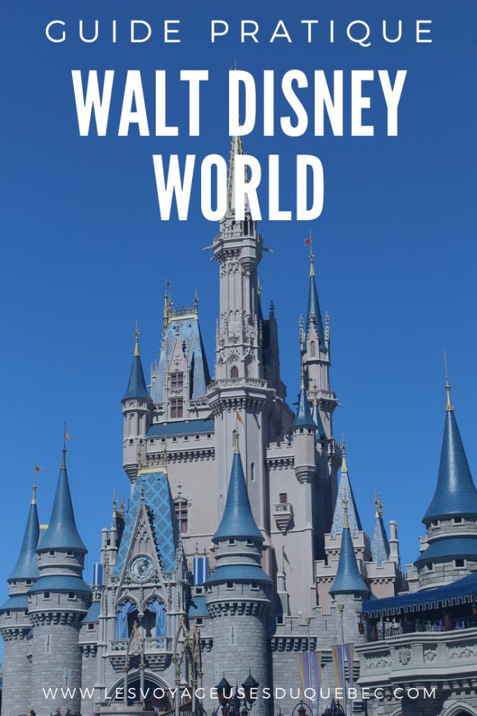 Visiter Walt Disney World à Orlando en Floride