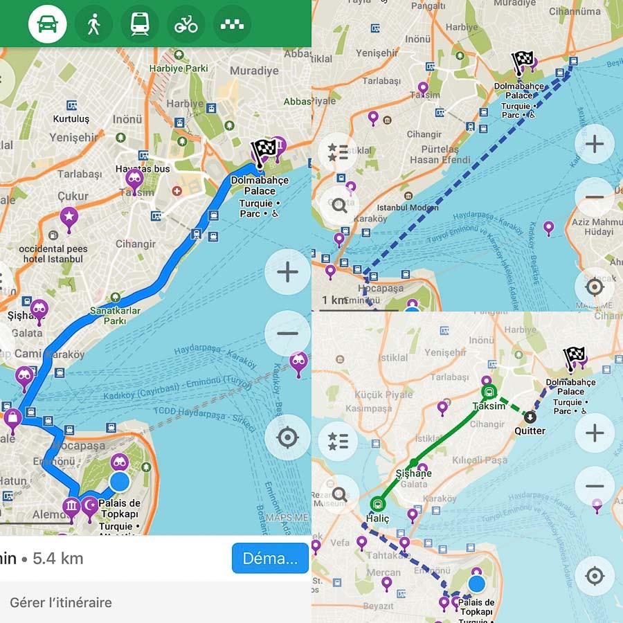 Maps.me, l'application voyage géographique à avoir sur soi dans notre article Applications voyage : 18 applications utiles pour l'organisation de son voyage #organisationvoyage #applications #voyage #astuces