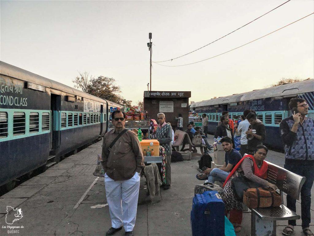 Le train en Inde, l'un des meilleurs moyens de se déplacer dans le pays dans notre article Bus et train en Inde : Démystifier la réservation de train en Inde et de bus #train #bus #inde #voyage #transport #sedeplacer