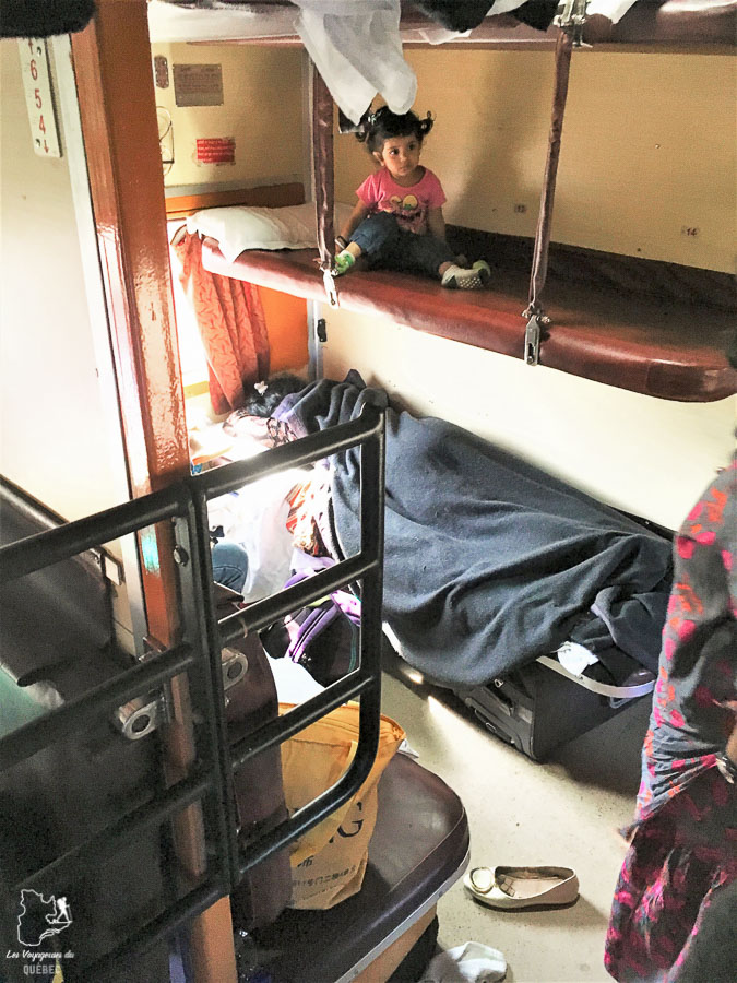 Choisir sa couchette lors de sa réservation de train en Inde dans notre article Bus et train en Inde : Démystifier la réservation de train en Inde et de bus #train #bus #inde #voyage #transport #sedeplacer