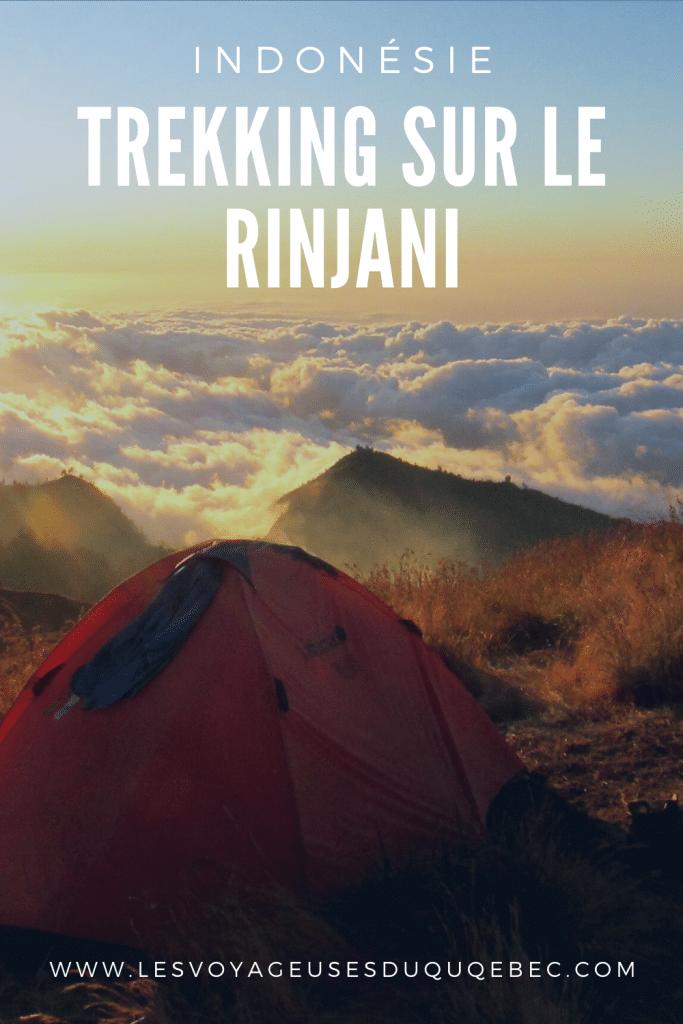 Trekking sur le rinjani : mon trek sur le volcan Rinjani à Lombok