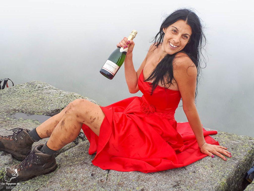 Devenir ADK 46er au sommet du Mont Haystack dans les Adirondacks dans notre article Devenir un Adirondack 46er : Faire l'ascension des 46 plus hautes montagnes des Adirondacks #adirondack #adirondacks #46ers #46er #ADK46er #montagnes #usa #randonnee