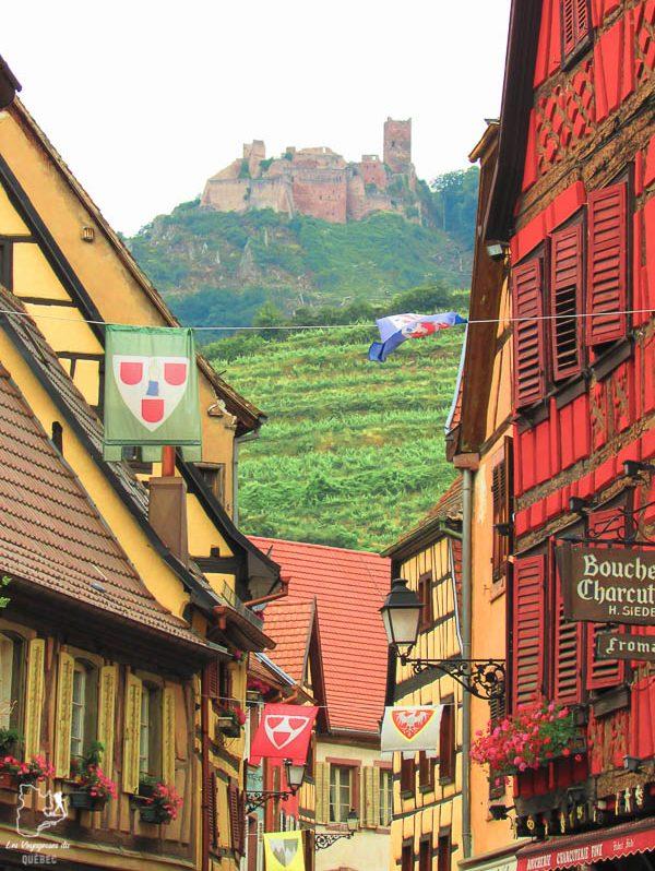 Ribeauvillé à visiter en Alsace près de Strasbourg dans notre article Visiter Strasbourg en Alsace et ses environs en 6 itinéraires d'un jour #strasbourg #alsace #france #voyage