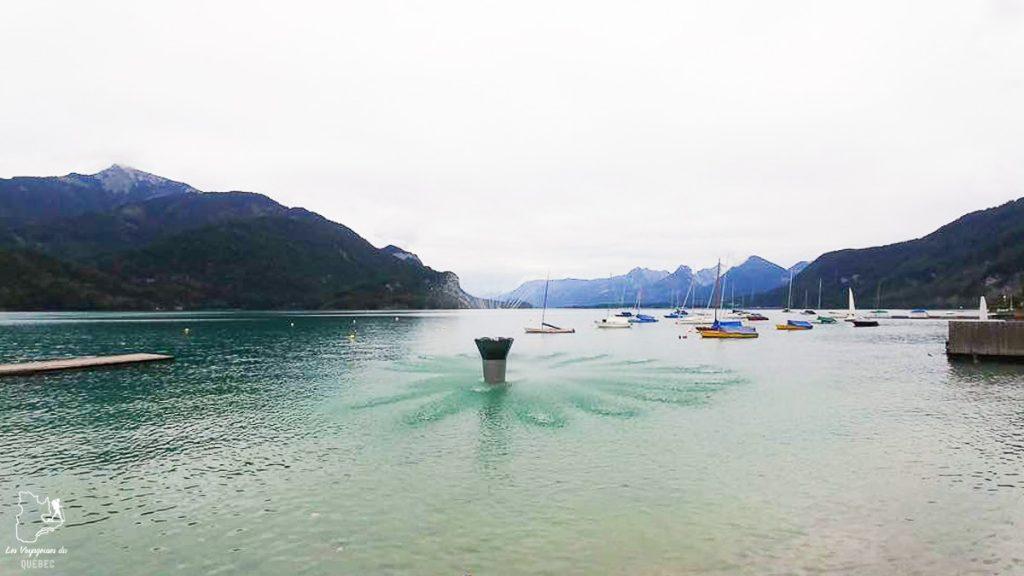 Visite du village Sankt Gilgen et de son lac près d'Hallstatt en Autriche dans notre article Hallstatt en Autriche : Petit guide pour visiter Hallstatt et ses environs #hallstatt #autriche #europe #voyage #alpes