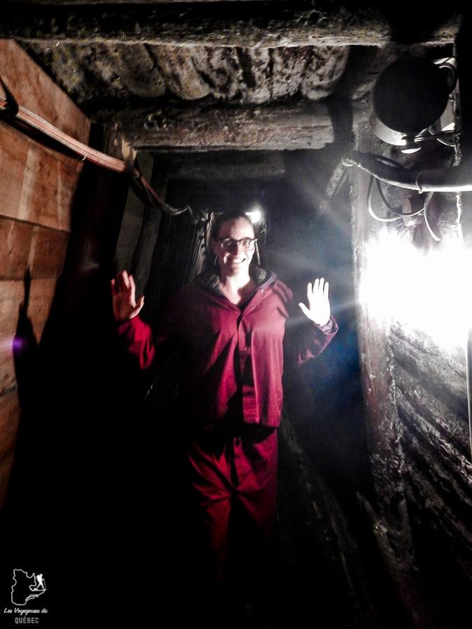 Dans les tunnels de la mine de sel d'Hallstatt en Autriche dans notre article Hallstatt en Autriche : Petit guide pour visiter Hallstatt et ses environs #hallstatt #autriche #europe #voyage #alpes