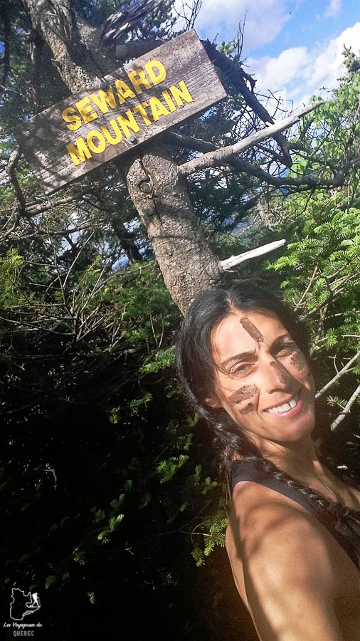 Au sommet du Mont Seward dans les Adirondacks dans notre article Devenir un Adirondack 46er : Faire l'ascension des 46 plus hautes montagnes des Adirondacks #adirondack #adirondacks #46ers #46er #ADK46er #montagnes #usa #randonnee
