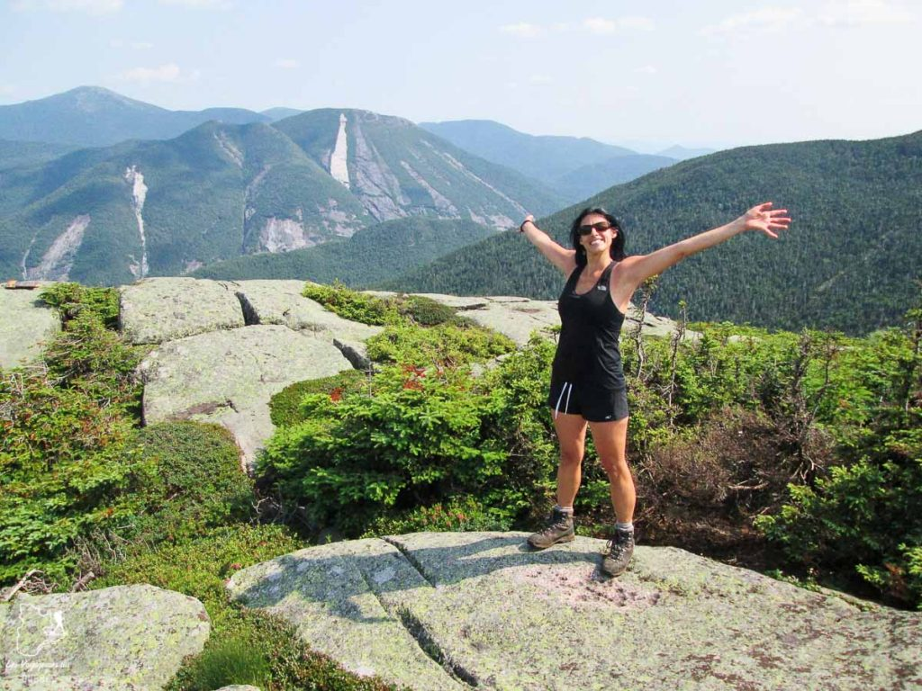 Randonnée sur le Mont Wright Peak dans les Adirondacks dans notre article Devenir un Adirondack 46er : Faire l'ascension des 46 plus hautes montagnes des Adirondacks #adirondack #adirondacks #46ers #46er #ADK46er #montagnes #usa #randonnee