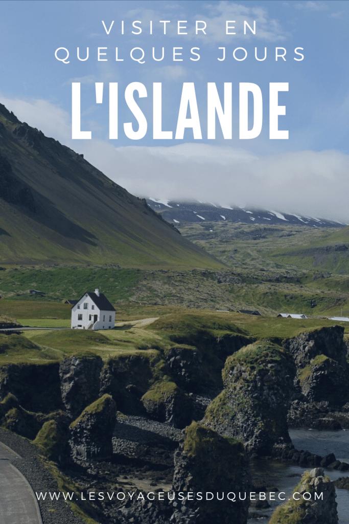 Visiter l'Islande : Quoi faire en Islande en 4 jours