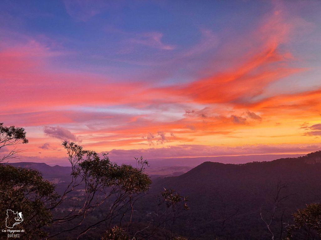 Blue Mountains près de Sydney dans l'article Visiter Sydney en Australie : Que faire à Sydney et dans les environs #sydney #australie #voyage #oceanie