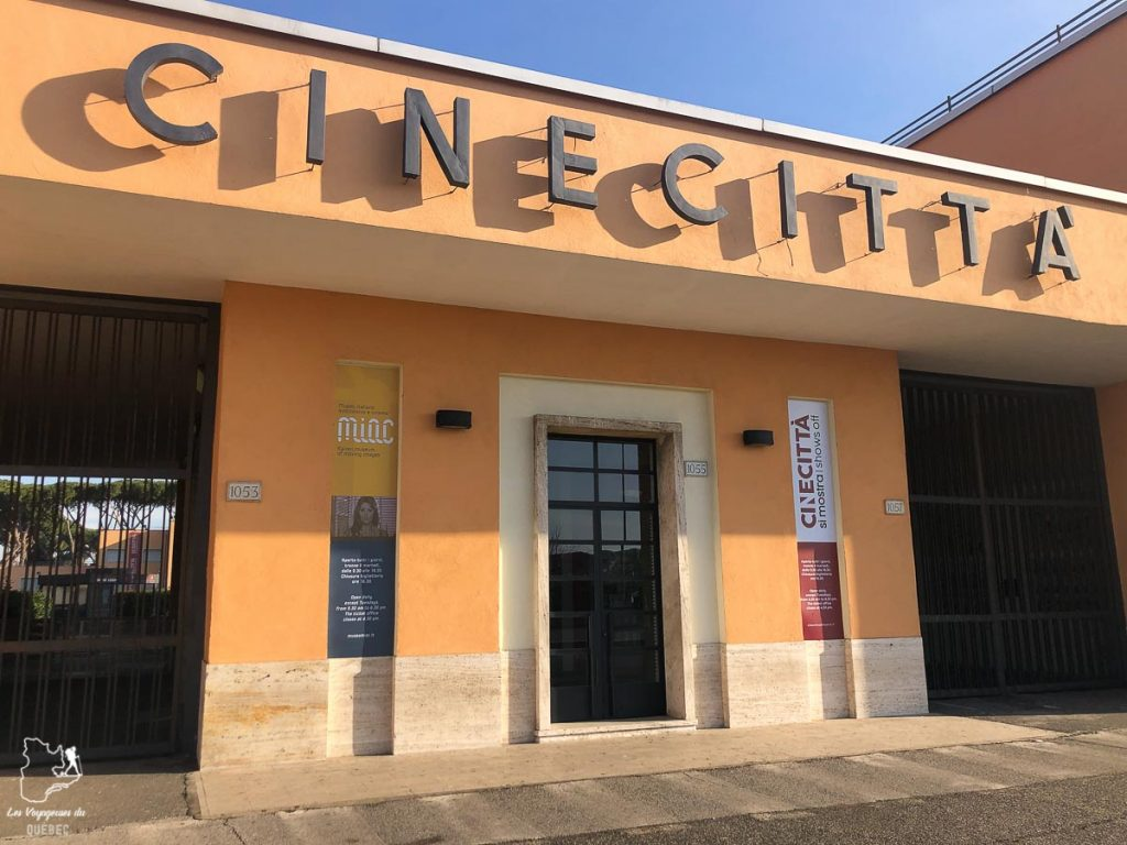 Cinecitta studios, à visiter à Rome pour les cinéphiles dans notre article Visiter Rome en 4 jours : Que faire à Rome, la capitale de l'Italie #rome #italie #europe #voyage
