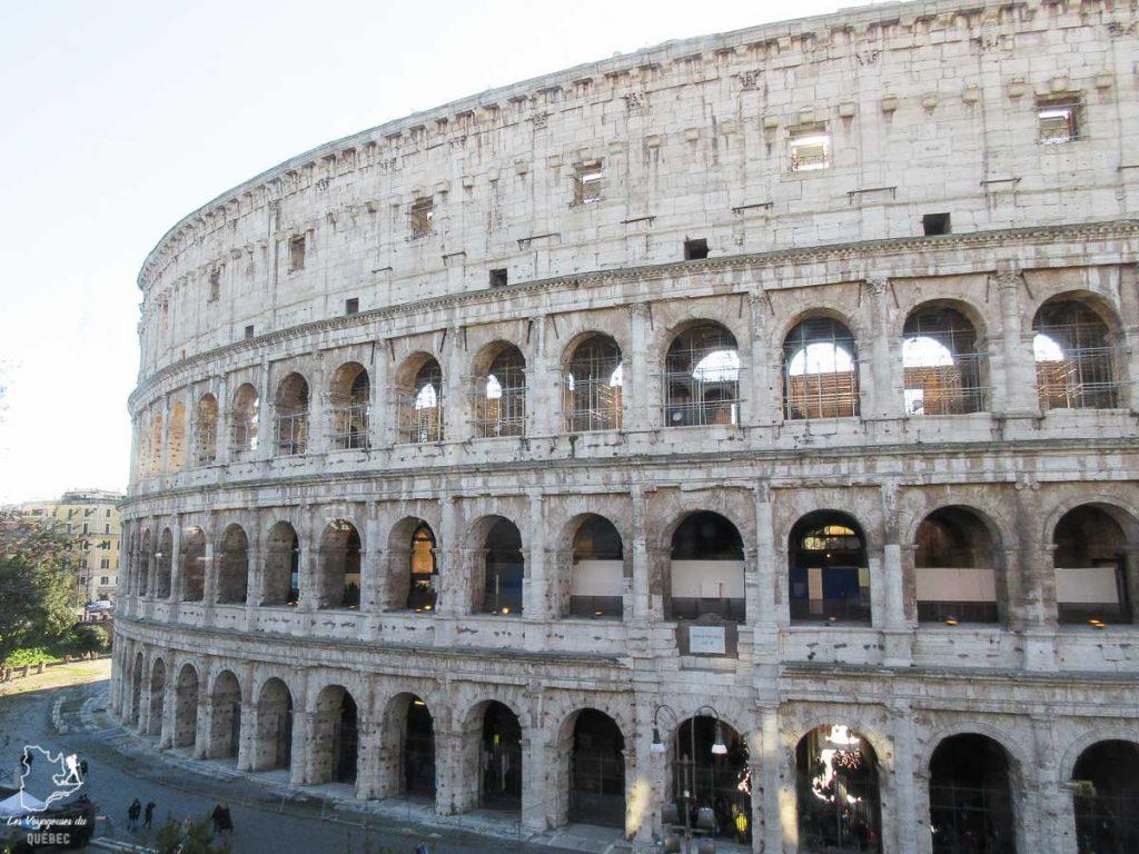 Le Colisée de Rome dans notre article Visiter Rome en 4 jours : Que faire à Rome, la capitale de l'Italie #rome #italie #europe #voyage