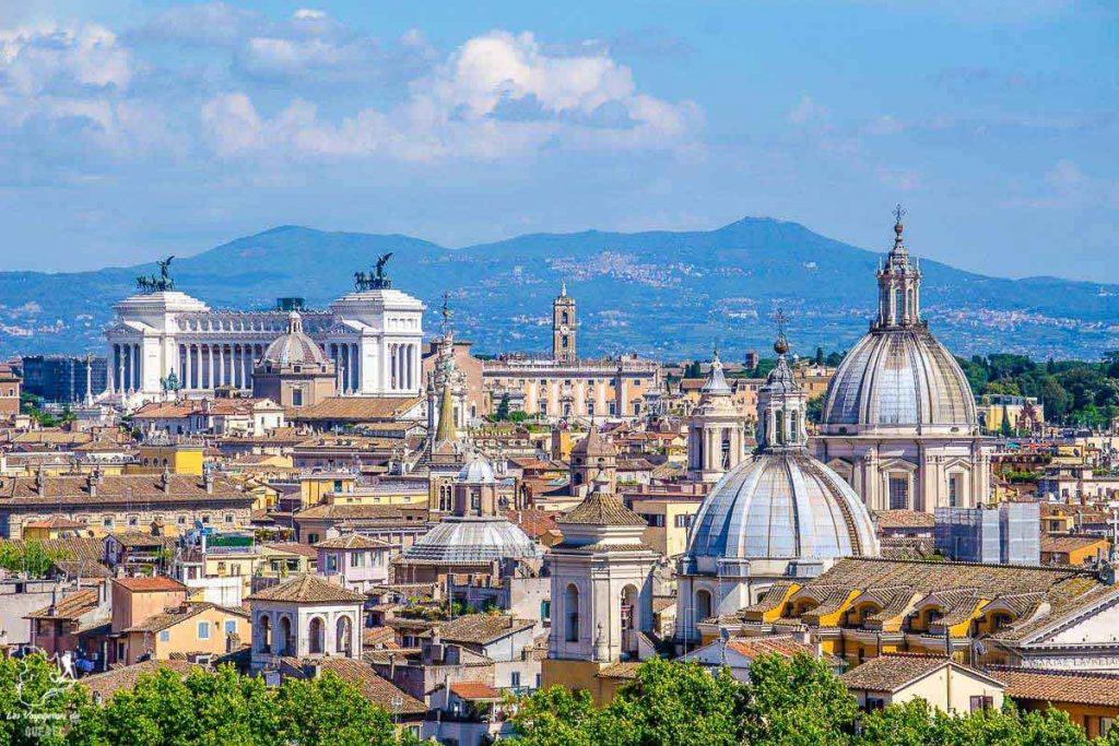 Janiculum Hill, pour visiter Rome d'en haut dans notre article Visiter Rome en 4 jours : Que faire à Rome, la capitale de l'Italie #rome #italie #europe #voyage