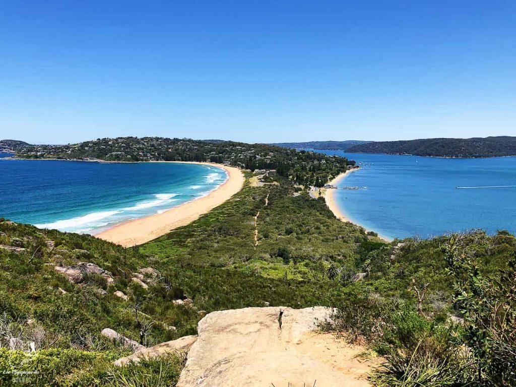 Palm Beach près de Sydney dans l'article Visiter Sydney en Australie : Que faire à Sydney et dans les environs #sydney #australie #voyage #oceanie