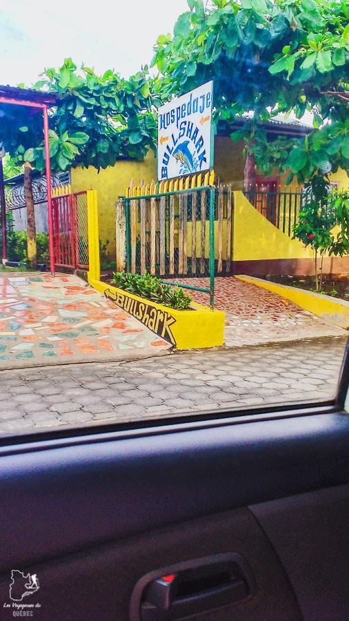 Hostel à Santo Domingo sur l'île d'Ometepe au Nicaragua dans notre article Ometepe au Nicaragua : Une semaine sur cette île volcanique #ometepe #ileometepe #nicaragua #ameriquecentrale #voyage