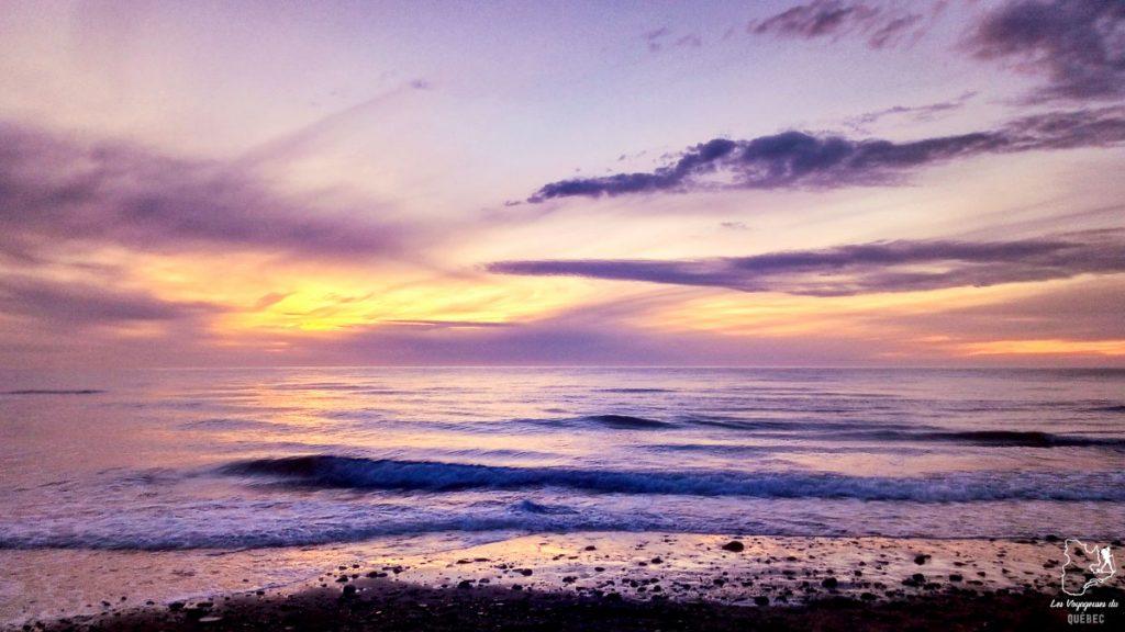 Coucher de soleil à Inverness au Cap-Breton en Nouvelle-Écosse dans notre article Voyage au Nouveau-Brunswick et en Nouvelle-Écosse en mode backpack #nouveaubrunswick #nouvelleecosse #voyage #canada #backpack