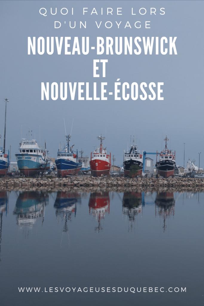 Voyage au Nouveau-Brunswick et en Nouvelle-Écosse : quoi faire dans ces provinces canadiennes