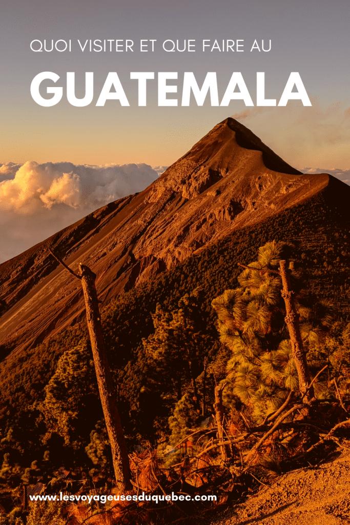 Voyage au Guatemala : les incontournables du Guatemala à visiter