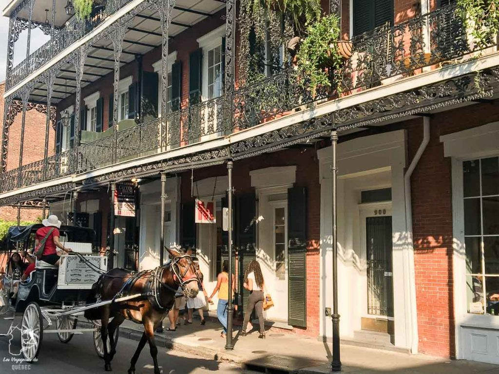 Architecture coloniale dans le Quartier français de la Nouvelle-Orléans dans notre article 5 incontournables de la Nouvelle-Orléans à visiter en 3 jours #nouvelleorleans #louisiane #usa #etatsunis #voyage #amerique