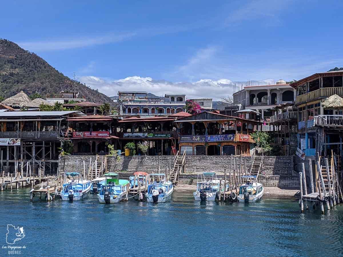 Panajachel au Lago Atitlan au Guatemala dans notre article Mon voyage au Guatemala en 12 incontournables à visiter et à faire #guatemala #ameriquecentrale #voyage