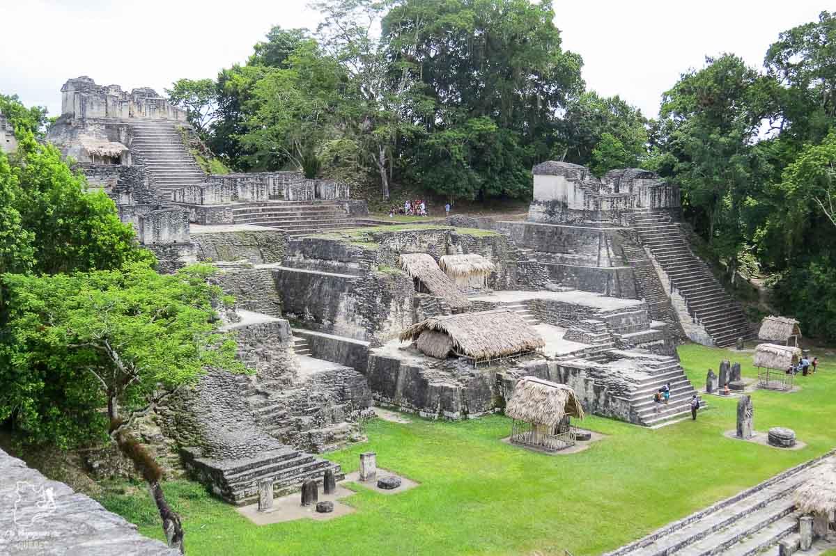 Les ruines de Tikal, un lieu à visiter au Guatemala dans notre article Mon voyage au Guatemala en 12 incontournables à visiter et à faire #guatemala #ameriquecentrale #voyage