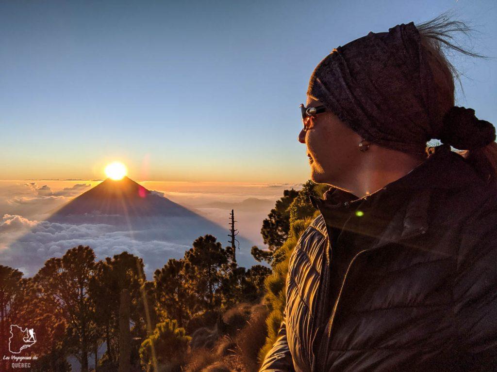 Ascension du volcan Acatenango, une expérience à vivre lors d'un voyage au Guatemala dans notre article Mon voyage au Guatemala en 12 incontournables à visiter et à faire #guatemala #ameriquecentrale #voyage