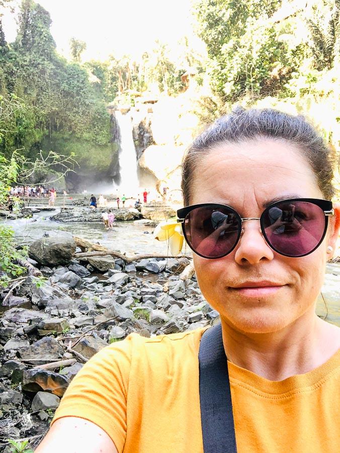Tegenungan waterfall près d'Ubud dans notre article Voyage à Bali : 1 mois à visiter Bali en Indonésie entre découvertes et farniente #bali #indonesie #asie #voyage #ile