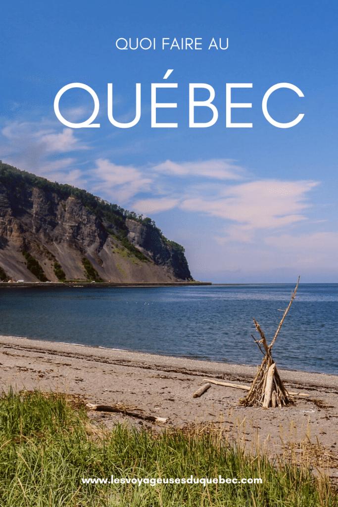 Que faire au Québec : 7 activités estivales