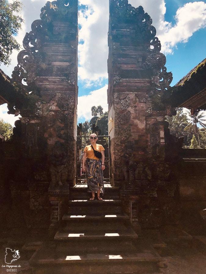 Visiter un temple à Bali dans notre article Voyage à Bali : 1 mois à visiter Bali en Indonésie entre découvertes et farniente #bali #indonesie #asie #voyage #ile
