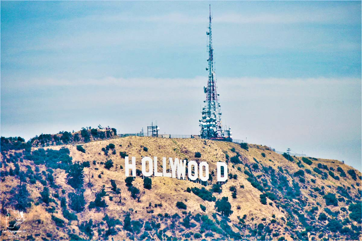 Hollywood Sign à Los Angeles dans notre article Villes de la Californie : une semaine à San Francisco, Los Angeles et San Diego #californie #usa #etatsunis #voyage #losangeles #sanfrancisco #sandiego