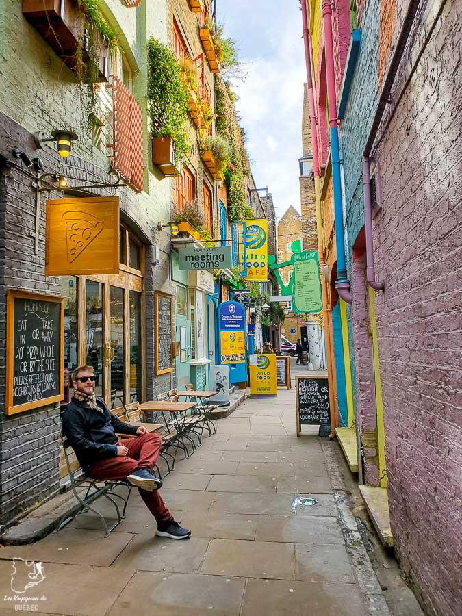 Neil's Yard, un incontournable de Londres dans l'article Visiter Londres : que faire et que voir avec un petit budget #londres #pascher #angleterre #royaumeunis #voyage #europe