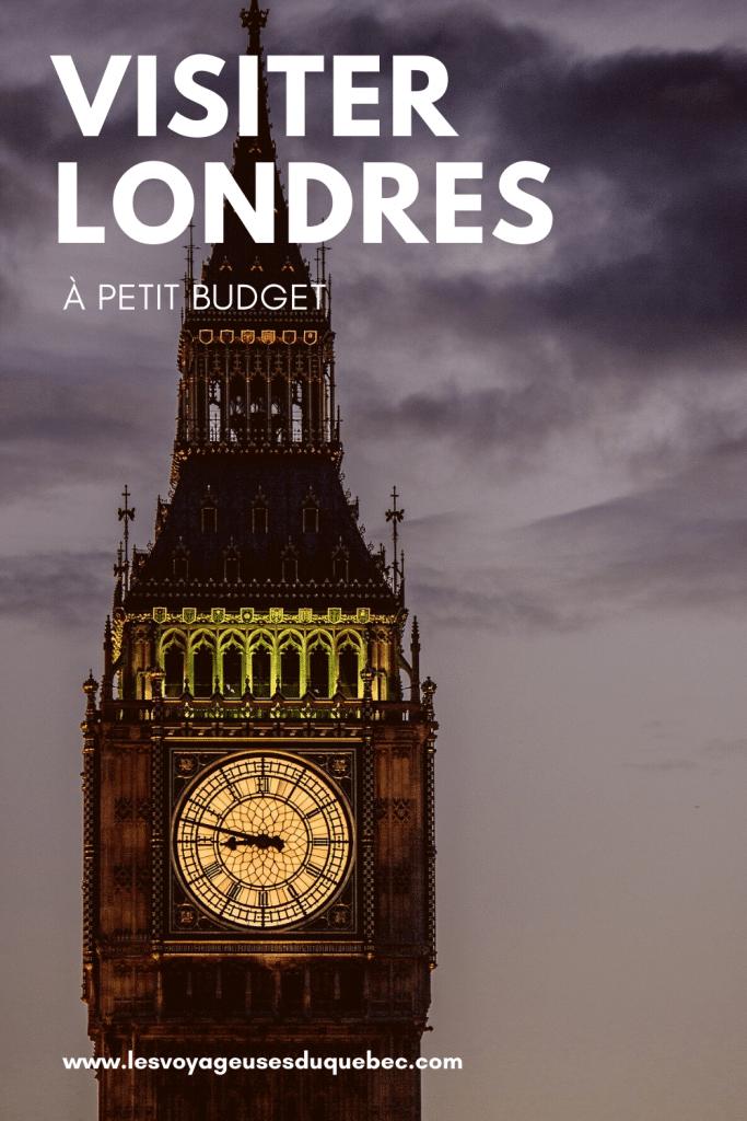 Visiter Londres avec un petit budget : Que faire à Londres