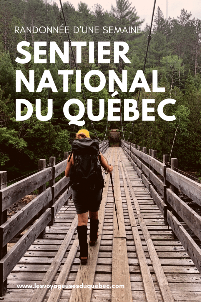 Randonnée dans Lanaudière : 100 km sur le sentier de la Matawinie au Québec