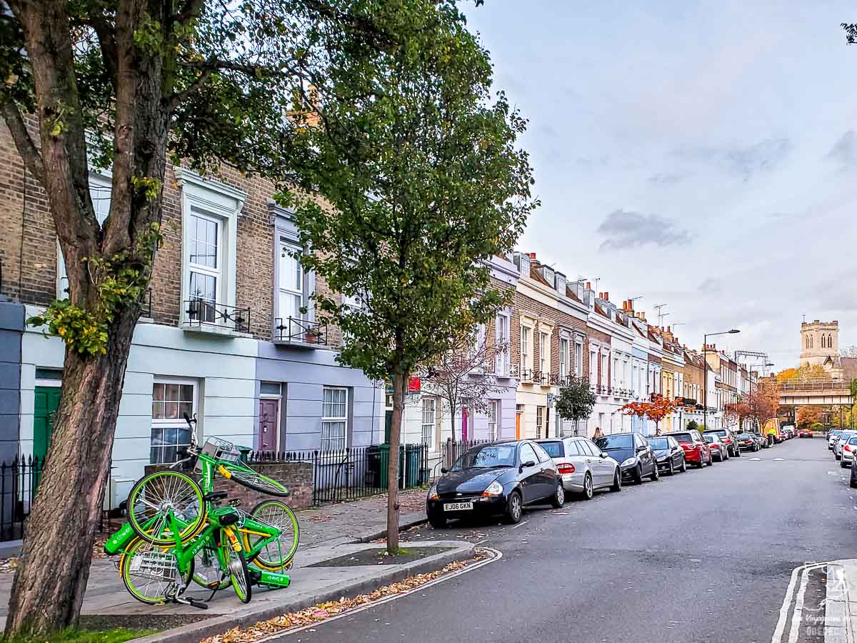 Street art dans Camden dans l'article Visiter Londres : que faire et que voir avec un petit budget #londres #pascher #angleterre #royaumeunis #voyage #europe