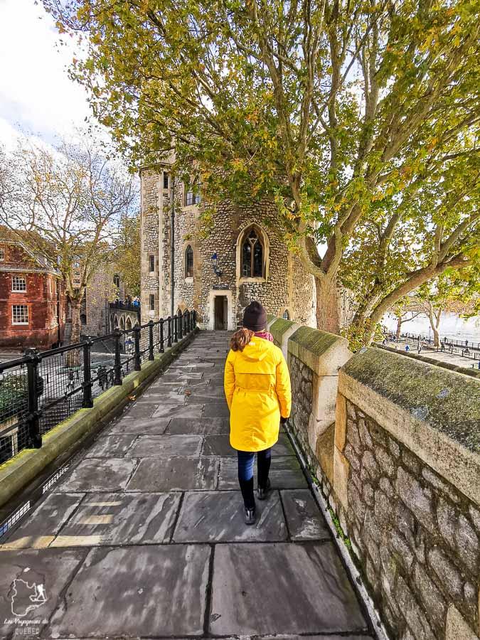 Les remparts de la tour de Londres dans l'article Visiter Londres : que faire et que voir avec un petit budget #londres #pascher #angleterre #royaumeunis #voyage #europe