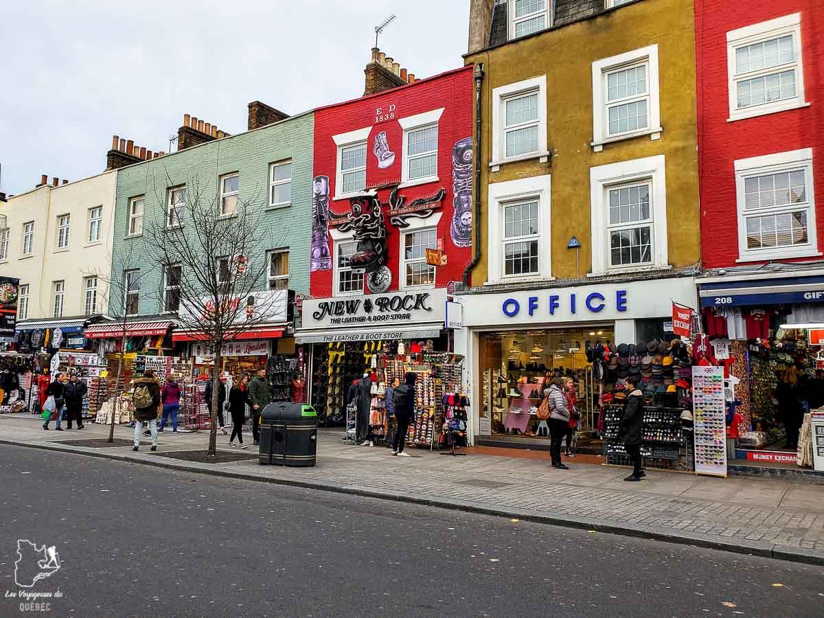 Camden Town à Londres dans l'article Visiter Londres : que faire et que voir avec un petit budget #londres #pascher #angleterre #royaumeunis #voyage #europe