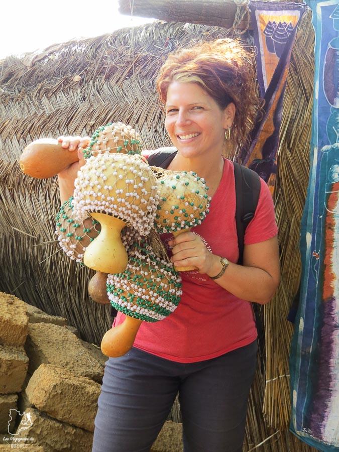 Instruments de musique à Bobo Dioulasso dans notre article Mon voyage au Burkina Faso : Que faire et visiter en 10 incontournables #burkinafaso #afrique #voyage