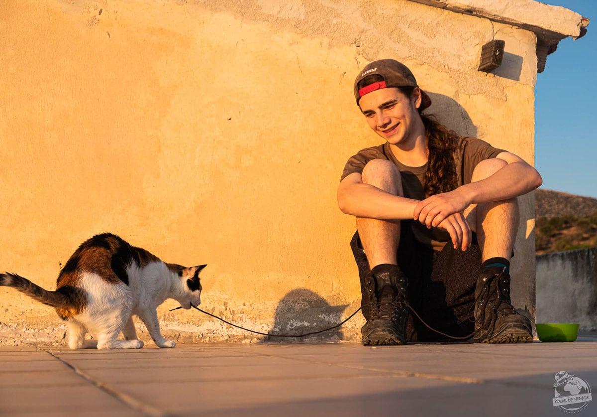 Expérience de workaway en Grèce dans notre article Comment voyager gratuitement en offrant de son temps : mes expériences Wwoofing et Workaway #voyagergratuitement #workaway #wwoofing #voyage